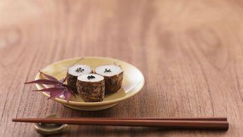 Фото бесплатно палочки, китайские, тарелка