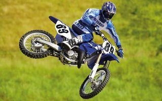 Фото бесплатно прыжок, мотоцикл, гонщик