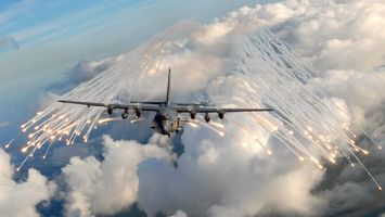 Фото бесплатно небо, ракеты, авиация