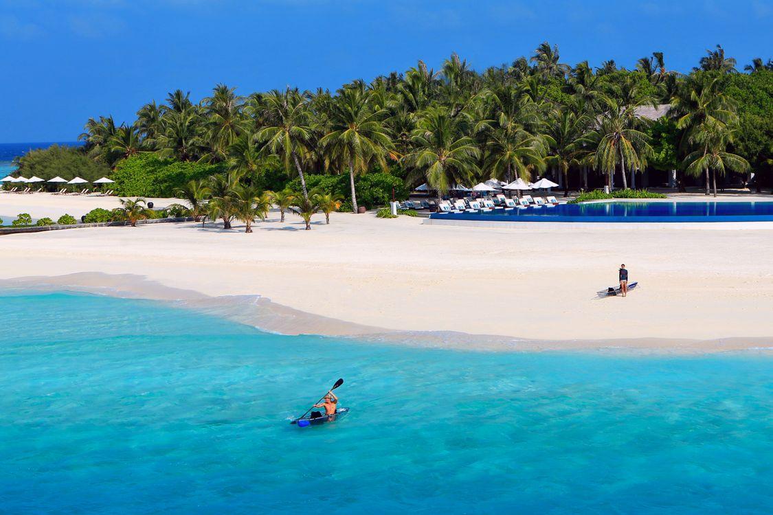 Фото бесплатно тропики, мальдивы, море, остров, пляж, пейзажи, пейзажи