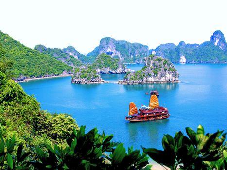Заставки тропики, вьетнам, море