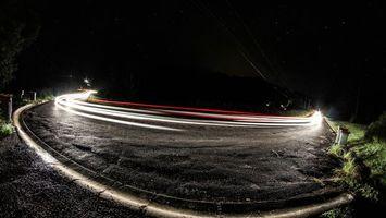 Фото бесплатно улица, свет, огни