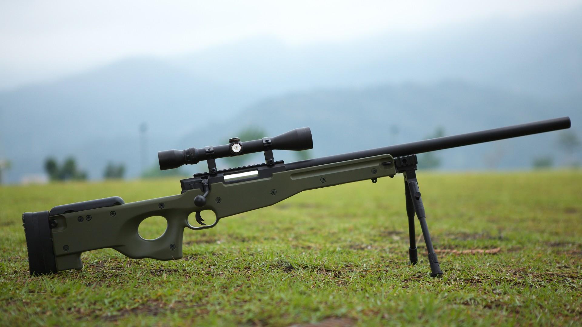 винтовка, приклад, прицел