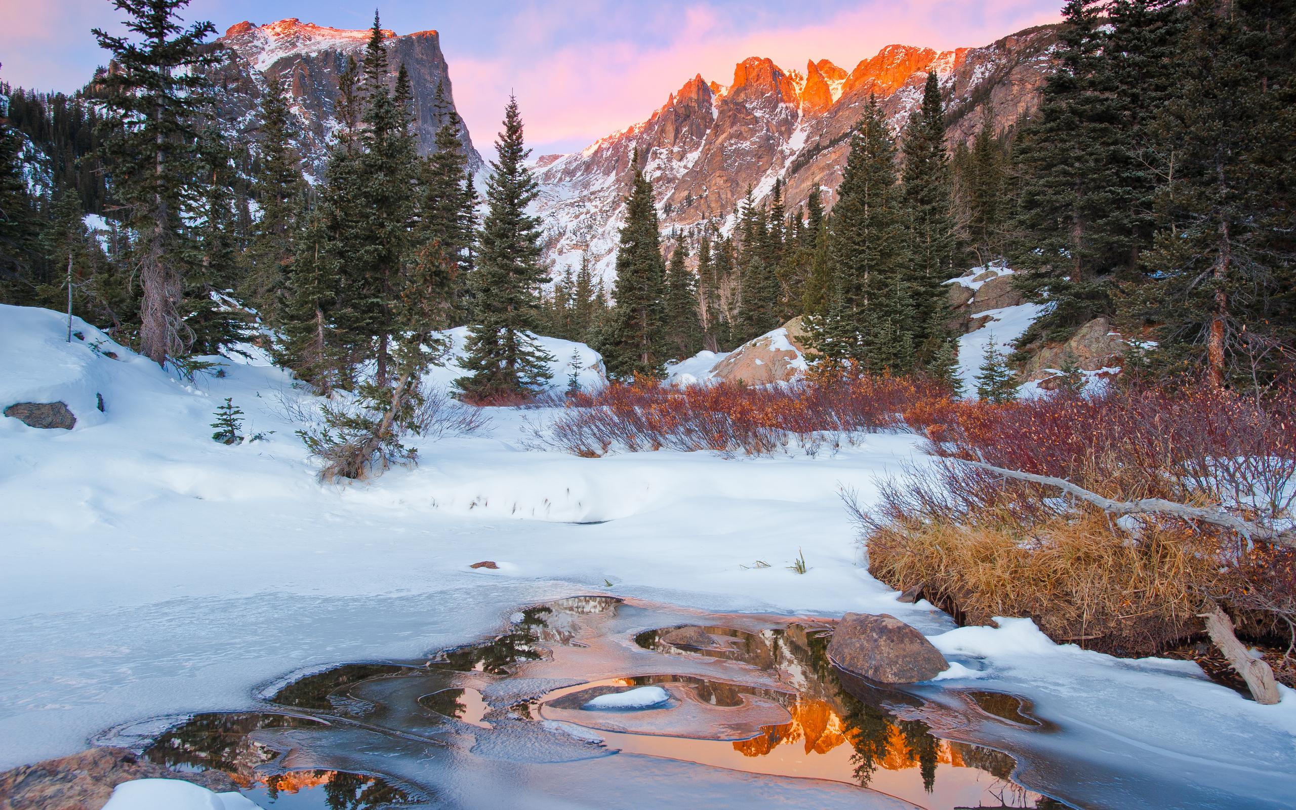горы лето снег загрузить