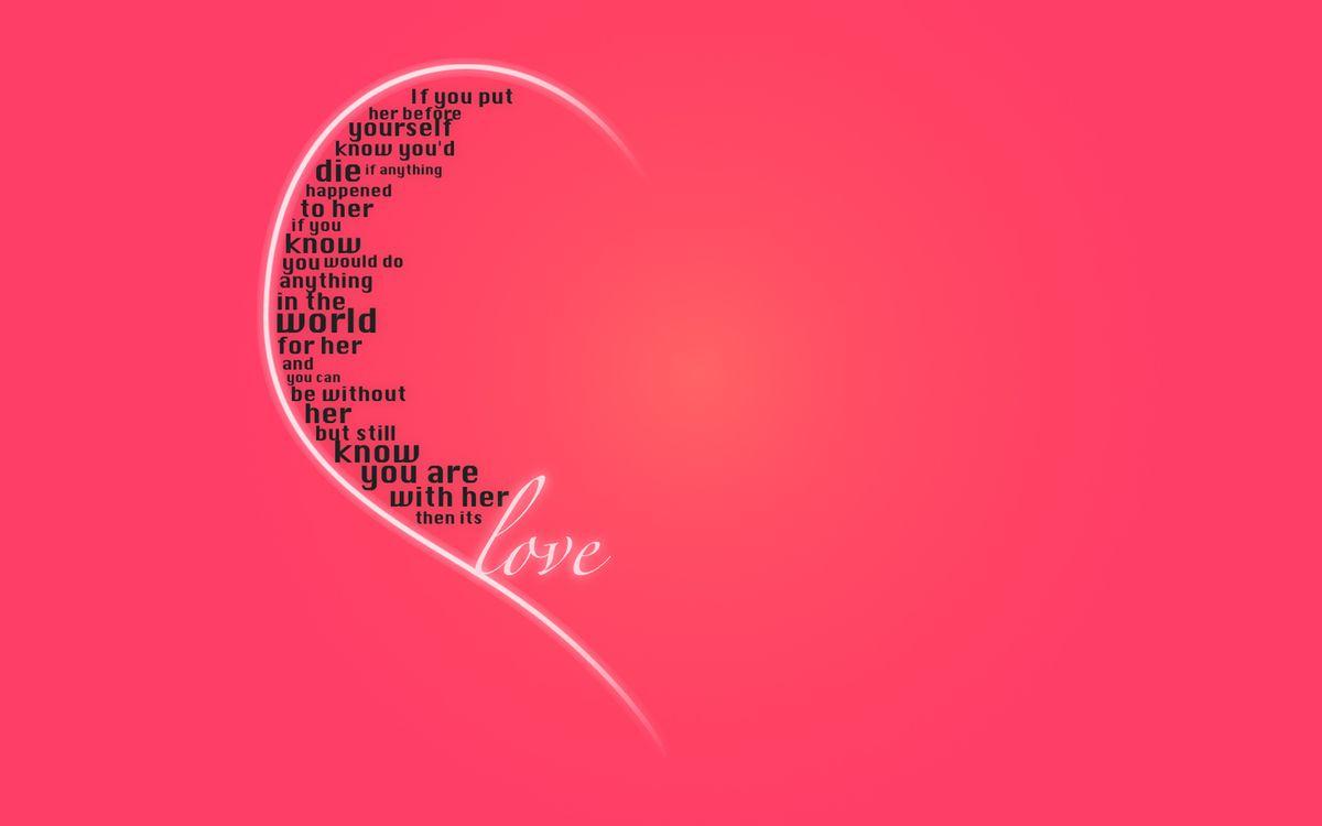 Фото бесплатно валентинка, день святого валентина, открытка - на рабочий стол