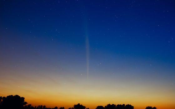 Бесплатные фото комета,lovejoy,южное полушарие,рассвет,звезды