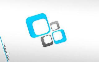Бесплатные фото белый фон,microsoft,windows,seven,hi-tech
