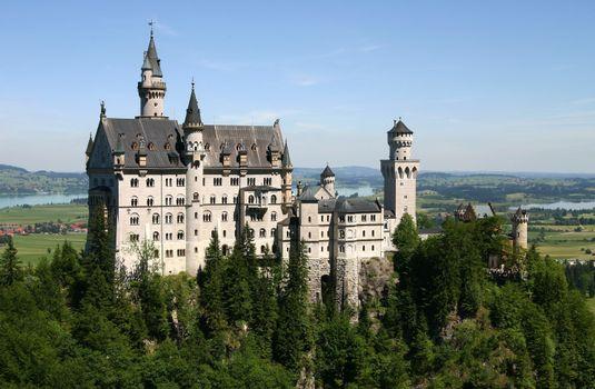 Заставки замок, дворец, крепость