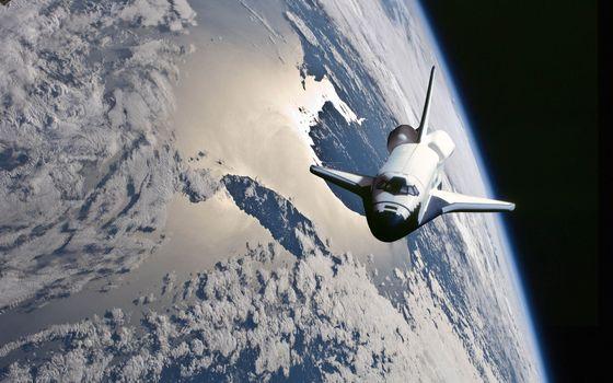 Photo free shuttle, space, nasa