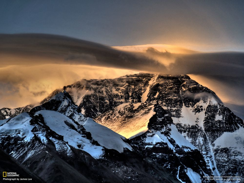 Фото бесплатно горы, снег, national geographic, сиянье, скалы, природа, природа