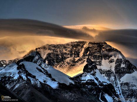 Бесплатные фото горы,снег,national geographic,сиянье,скалы,природа
