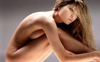 Фото бесплатно девушка, обнаженная, шатенка
