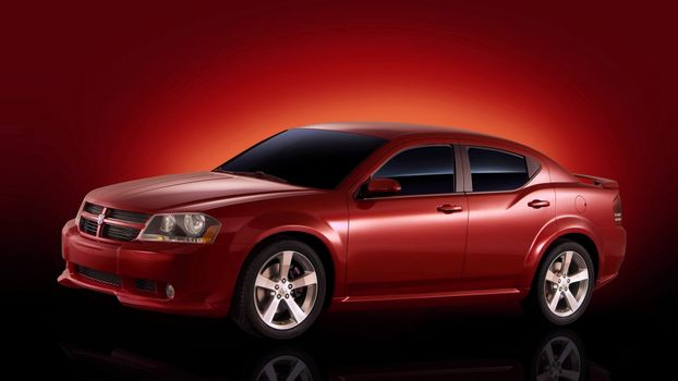 Photo free Dodge, sedan, wheels