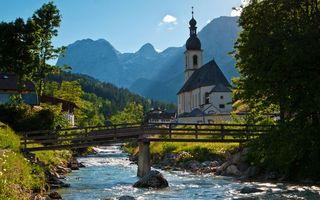 Бесплатные фото дом,замок,трава,лес,деревья,деревня,река