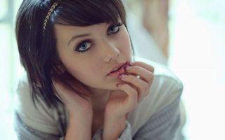 Бесплатные фото девушка, брюнетка, девушки