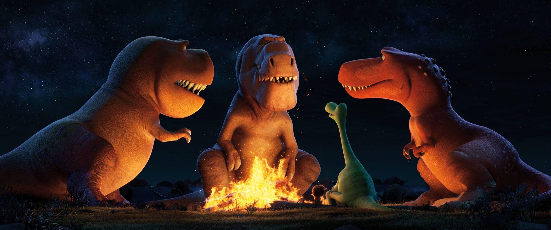 Free photo A good dinosaur, cartoon, fantasy - to desktop