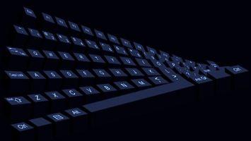 Фото бесплатно клавиатура, черная, кнопки