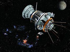 Бесплатные фото космический,спутник,телескоп,луна,звезды,млечный,путь
