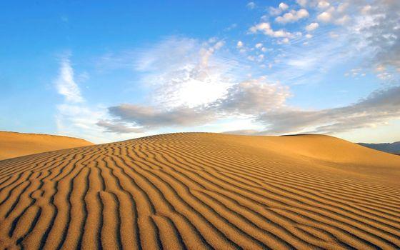 Фото бесплатно пейзажи, пустыня, песок