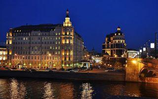 Бесплатные фото санкт-петербург,набережная,мост,serg-sergeew,ночь,огни,отражения