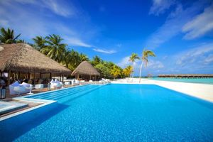 Бесплатные фото тропики,мальдивы,море,остров,пляж,бунгало,пейзажи