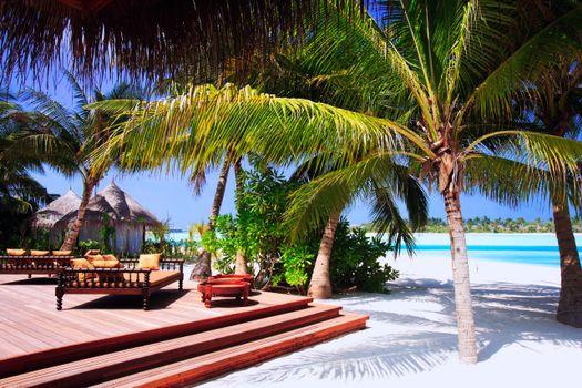 Фото бесплатно разное курортный отель, пляж, море