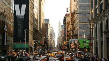 Фото бесплатно многие, автомобили, город