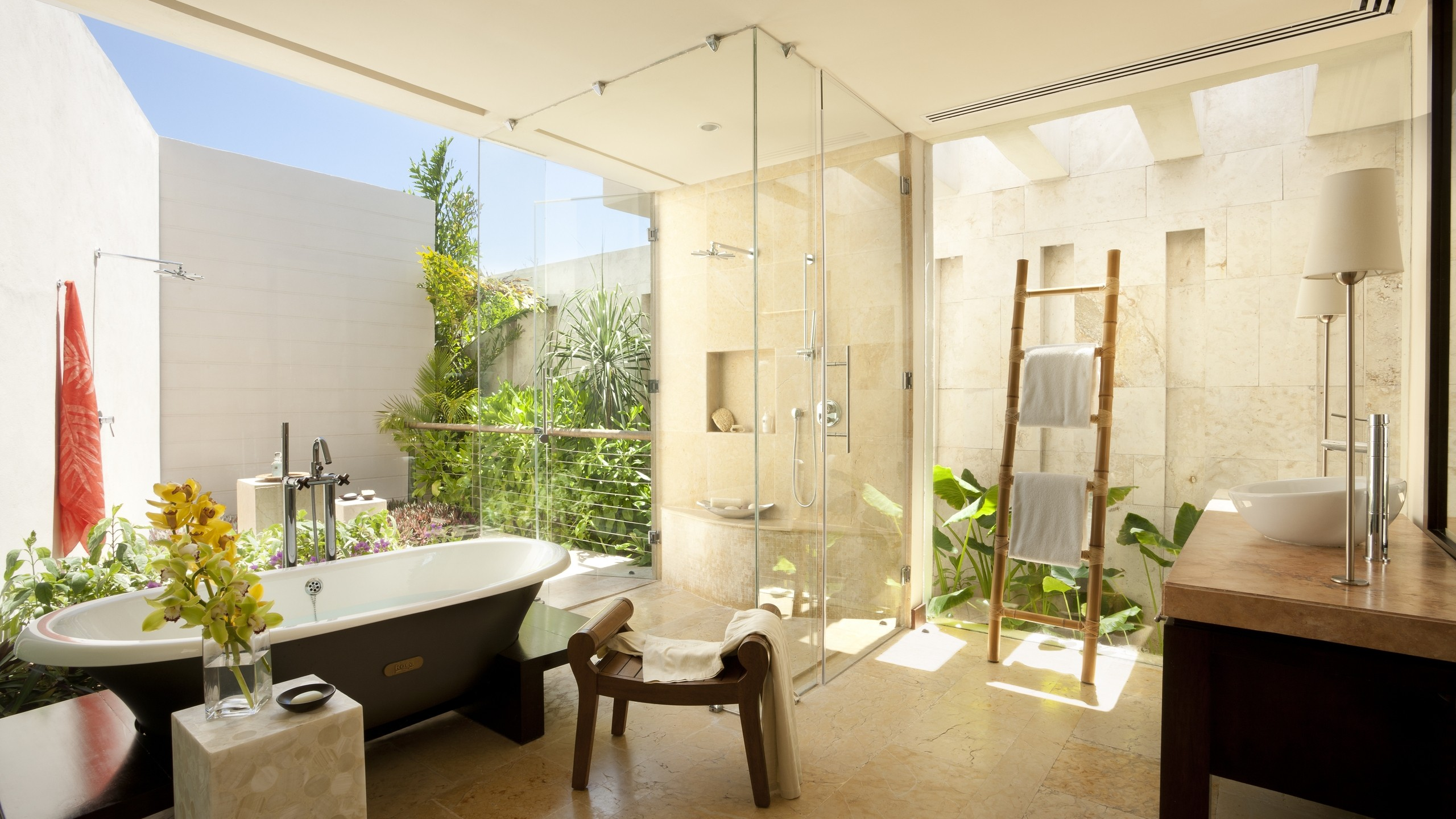 ванная, комната, дизайн