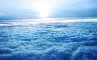 Бесплатные фото облака,вид,из самолета,солнце,лучи,пейзажи