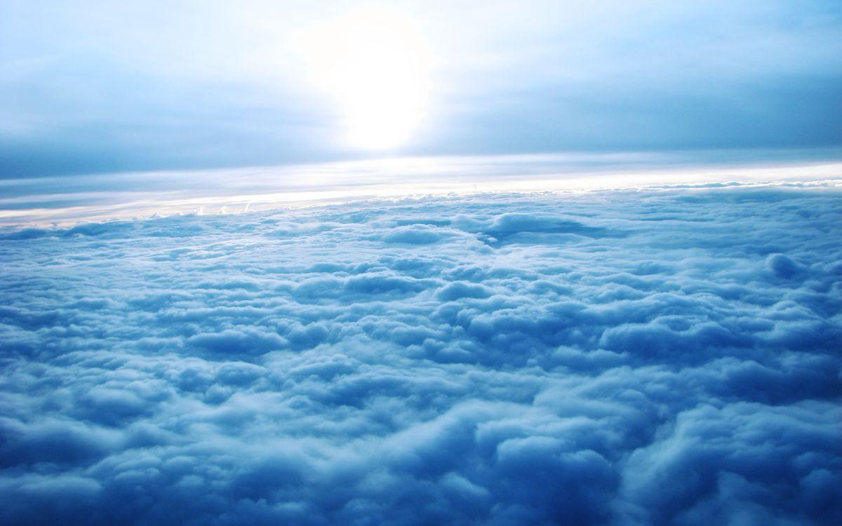 Фото бесплатно облака, вид, из самолета - на рабочий стол