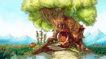 Фото бесплатно дерево, дуб, ркна