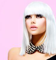 Бесплатные фото девушка,модель,блондинка,Анна Субботина,взгляд,макияж,ресницы