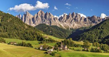 Фото бесплатно Dolomite Alps, South Tyrol, Italy