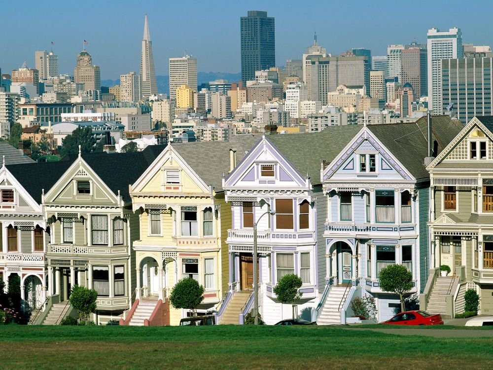Фото бесплатно дома, трава, город - на рабочий стол