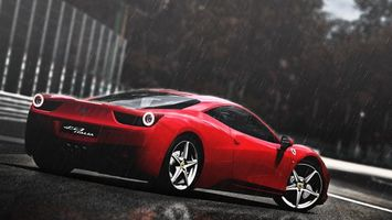Бесплатные фото феррари,италия,458,купе,диски,спорткар,колеса