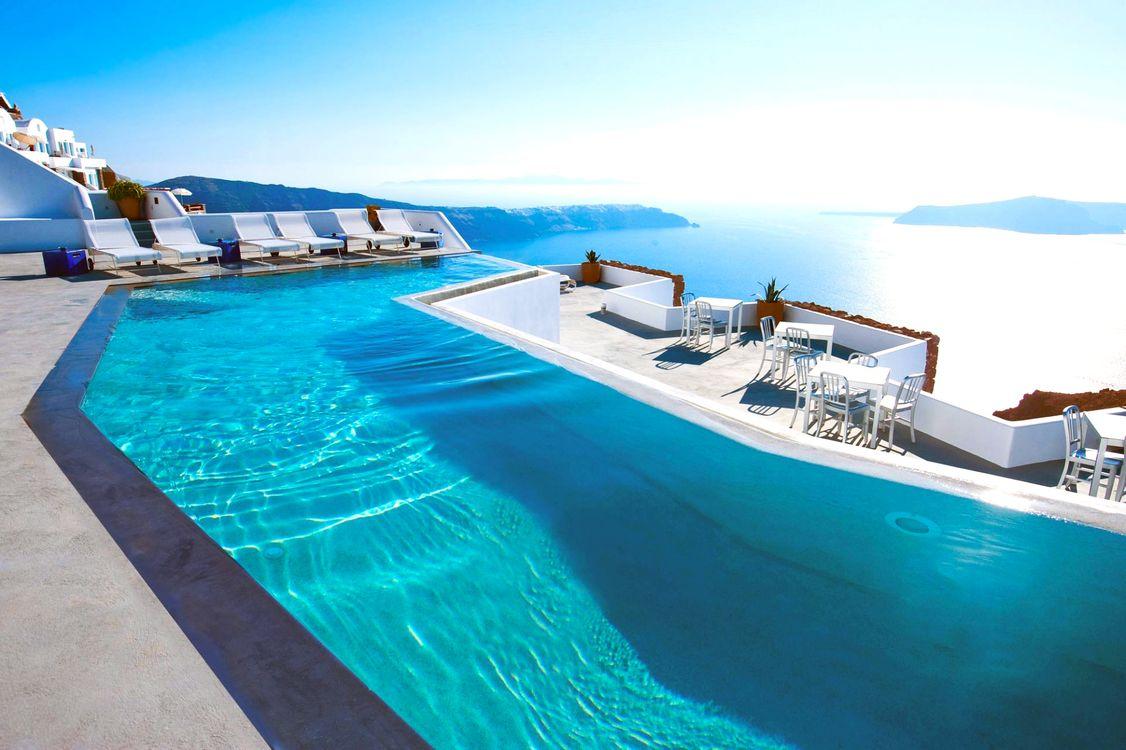 Фото бесплатно греция, отель, бассейн, разное, разное - скачать на рабочий стол