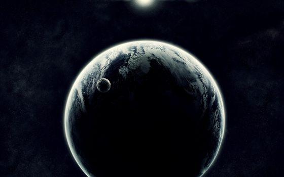 Бесплатные фото новая планета,спутник,звезда,солнце,космос