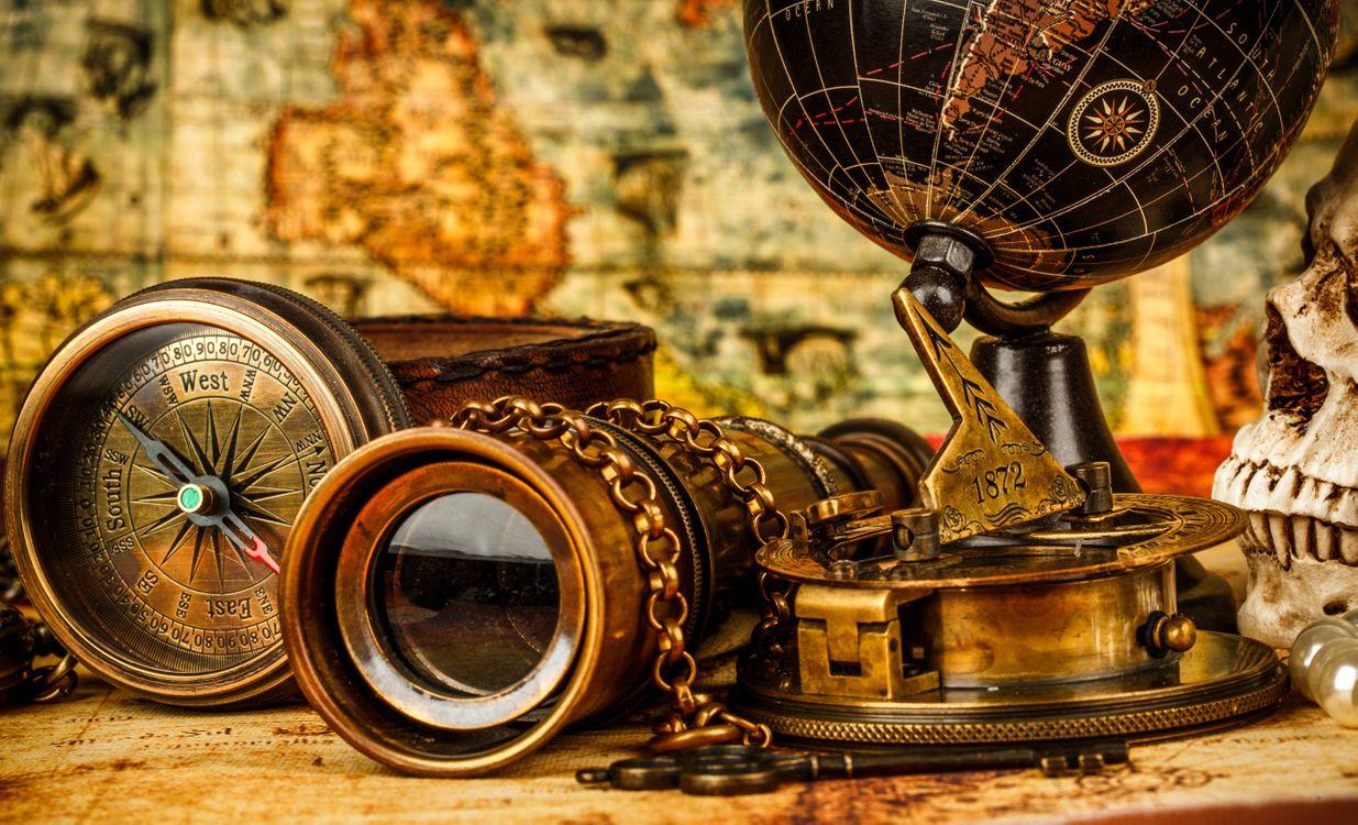 Фото бесплатно натюрморт, композиция, глобус - на рабочий стол