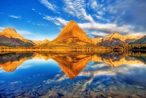 Бесплатные фото озеро, горы, отражение, пейзажи