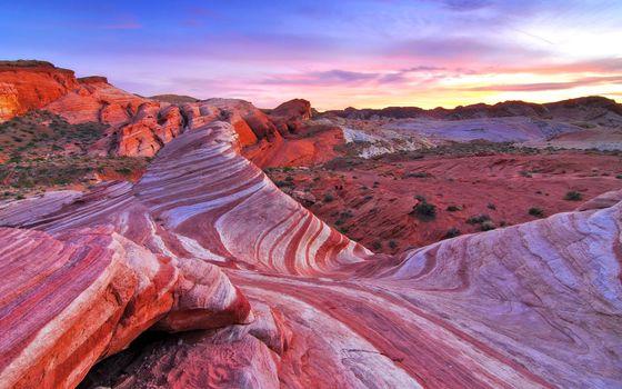 Фото бесплатно пейзаж, пустыня, скалы