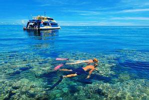 Бесплатные фото тропики,море,яхта,дайвинг,разное