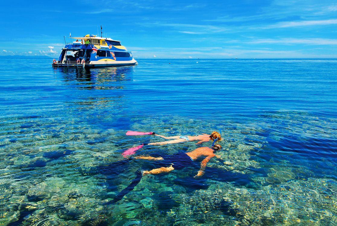 Фото бесплатно тропики, море, яхта - на рабочий стол