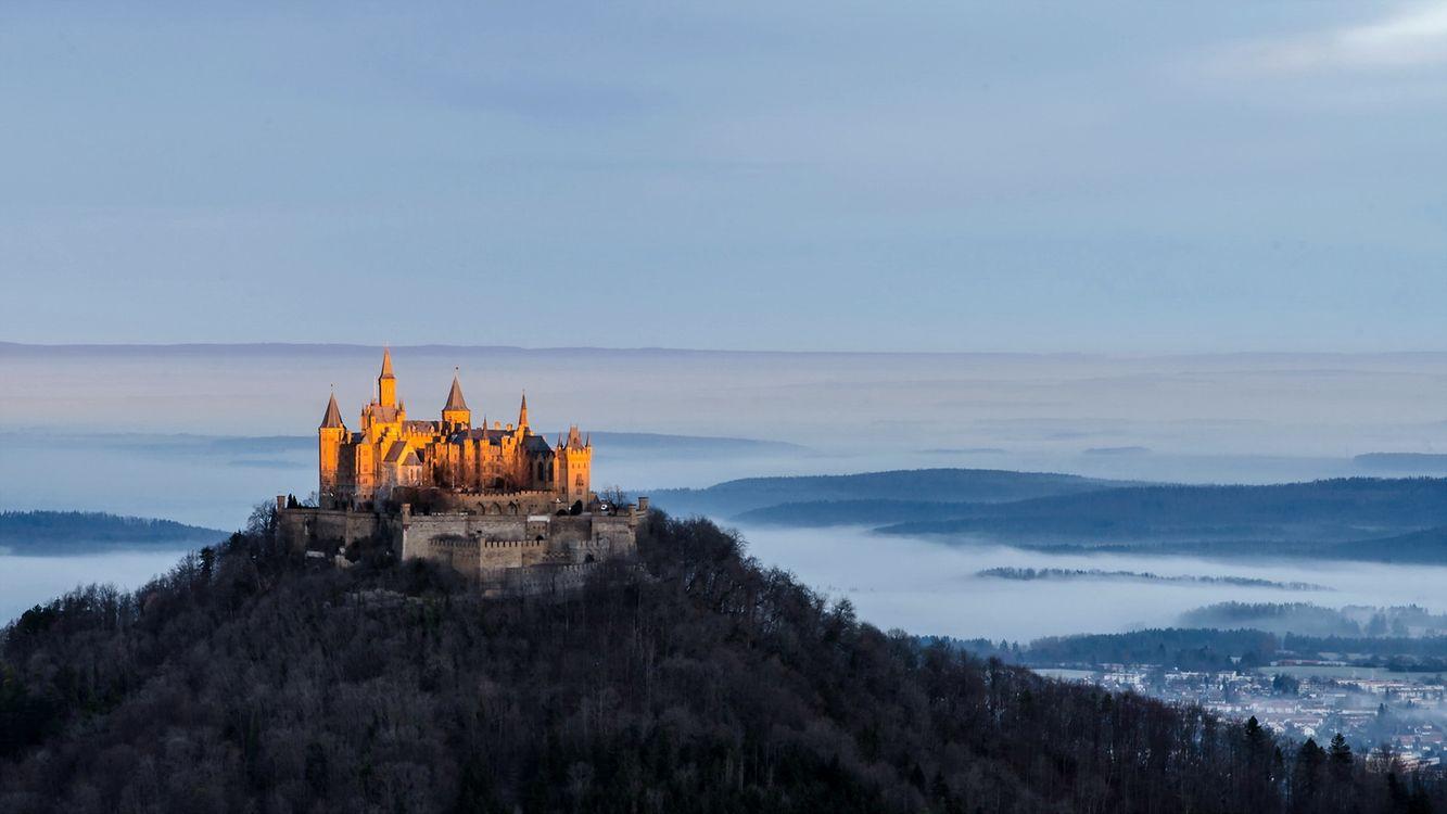 что картинка замок за горами фотосъемка