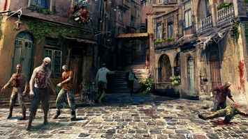 Фото бесплатно зомби, дома, улица
