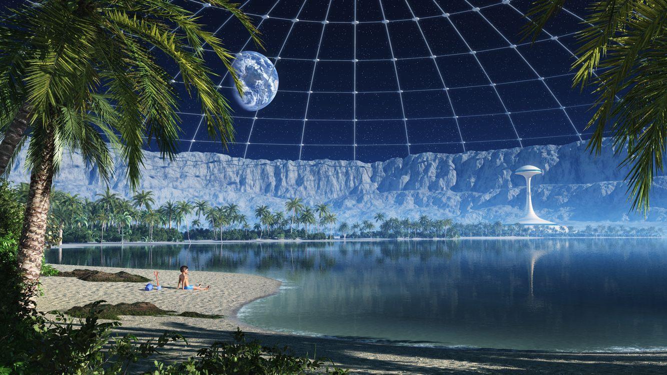 Фото бесплатно новая земля, новый мир, планета - на рабочий стол