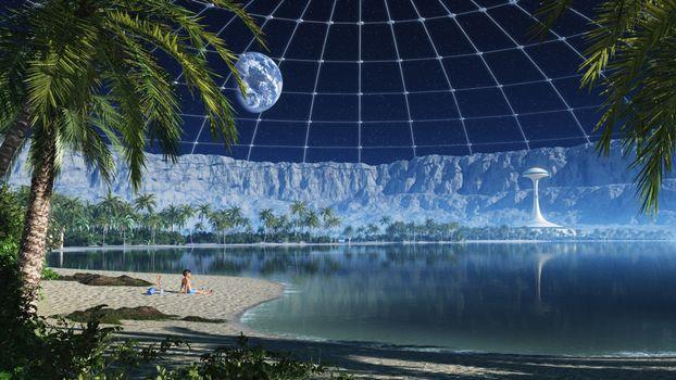Бесплатные фото новая земля,новый мир,планета,на орбите,земля,вода,жизнь,ребенок,фантастика