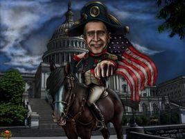 Фото бесплатно буш, америка, флаг