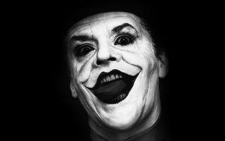 Бесплатные фото джек николсон,актер,портрет,фильм,грим,улыбка,лицо