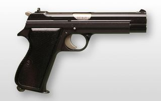 Photo free pistol, trigger, sight