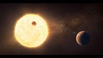 Фото бесплатно солнце, земля, звезды, галактика, астероиды, кометы, космос